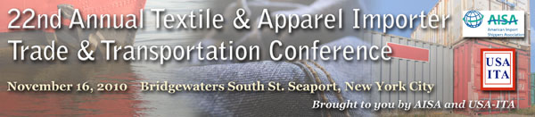 22nd Annual Textile & Apparel Importer Trade & Transportation Conference