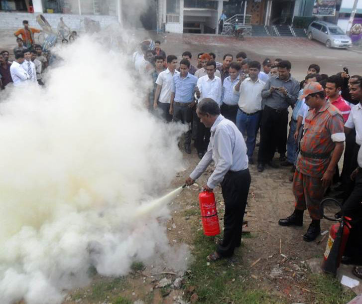 WRAP fire safety training in Bangladesh