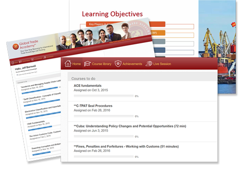 e Learning Courses Screenshot